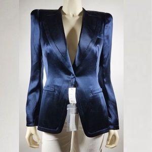 Alexander McQueen Navy Tuxedo Blazer Jacket 42